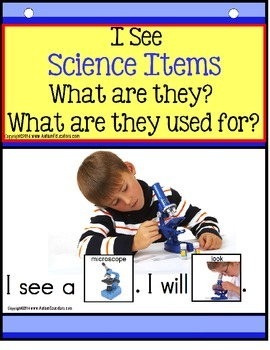 Build A Sentence with Pictures Interactive SCIENCE ITEMS f