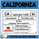 State of CALIFORNIA Activity Book