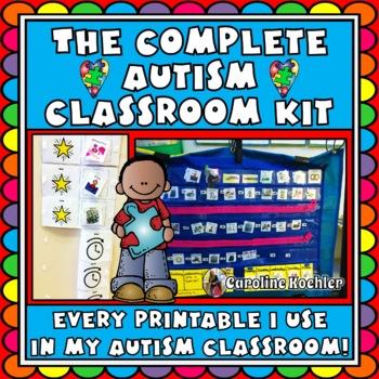 Autism Classroom Mega Bundle: Set up, Organize, & Manage;