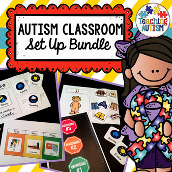 Autism Classroom, Set Up Your Classroom.