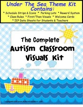 Autism Classroom Visuals Kit - UNDER THE SEA THEME