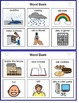Autism Comprehension Activity Book -Rainy Days Can Be Fun!