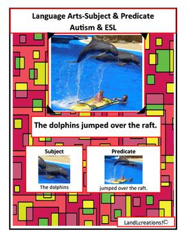 Autism & ESL: Language Arts; Subject & Predicate