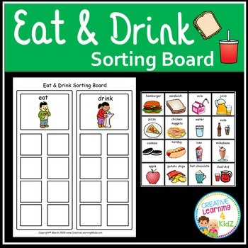 Eat & Drink Sorting Board