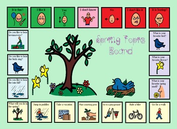 Autism:  Four Seasons Topic Boards