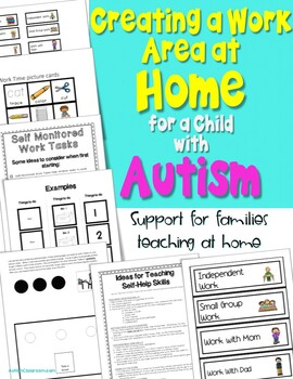 Autism Homeschool Planning Guides, Forms and Visual Supports