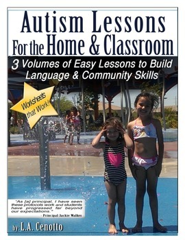 Autism Lessons For The Home & School Volumes 1-3