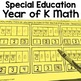 Autism Level 1 or Kindergarten Math Bundle: Centers and Ye