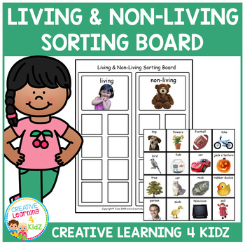 Living & Non-Living Sorting Board