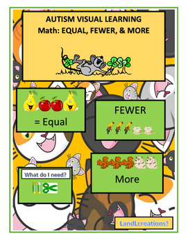 Autism: Math, More, Fewer & Equal