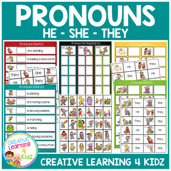 Pronoun Set