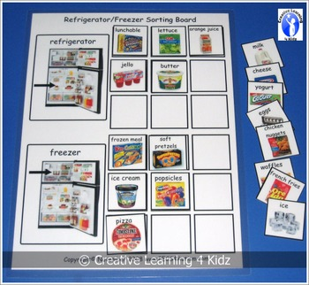 Refrigerator & Freezer Sorting Board