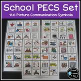 PECS School Set Visual Schedule Cards Autism