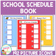 School Schedule Book 192 PECS Autism