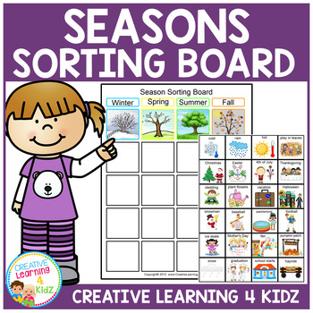 Seasons Sorting Board