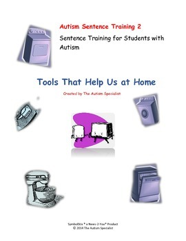Create-A-Sentence Autism Sentence Training 2 Tools That He