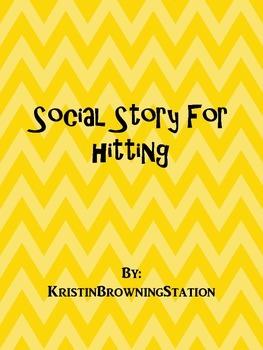 Autism Social Story-Hitting