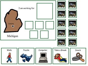 Autism:  State of Michigan Token Board