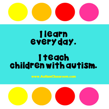 Autism Support Poster