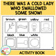 There Was a Cold Lady Who Swallowed Some Snow! Cut & Paste Book