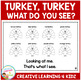 Turkey, Turkey, What Do You See? Cut & Paste Thanksgiving Book