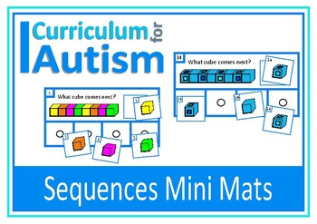Patterns Sequences Visual Perception Skills, Autism, Speci