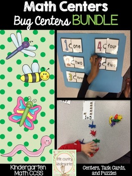 Autism or Kindergarten Math Centers: Number ID, Add, and S