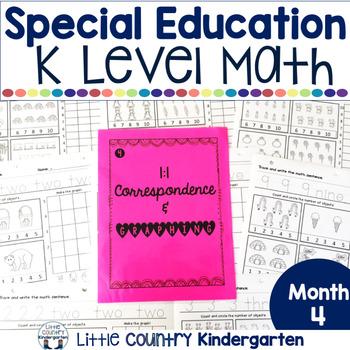 Autism or Kindergarten: Morning Work or Homework Month 4 o