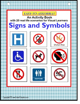 AUTISM Life Skills SIGNS and SYMBOLS for Special Education