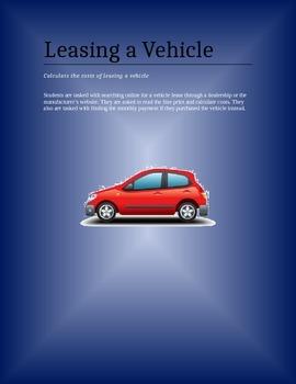 Auto Lease Terms Web Search