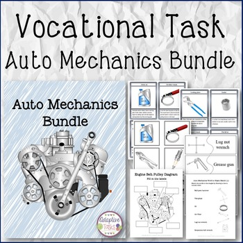 VOCATIONAL TASK Auto Mechanics Bundle
