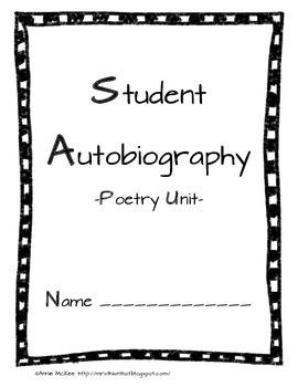 Autobiography Poetry Unit
