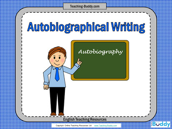 Autobiography Unit (PowerPoint and worksheets)
