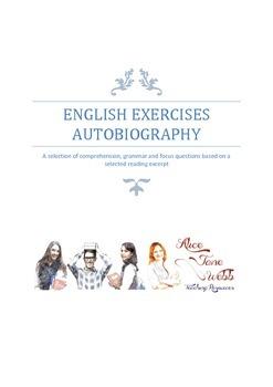 Autobiography Writing Lesson Plan