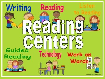 Automated Centers/Guided Reading Rotation Editable Powerpo