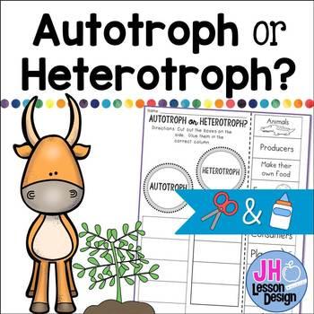 Autotroph or Heterotroph? Cut and Paste Sorting Activity