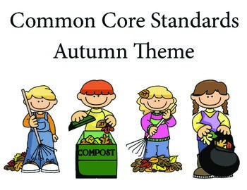 Autumn 1st grade English Common core standards posters