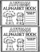 Autumn Alphabet - Fall Mini Book Project - Reading and Wri