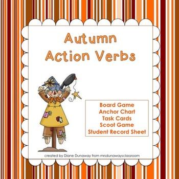 Autumn Action Verbs
