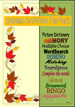 Autumn Activities Resource Pack