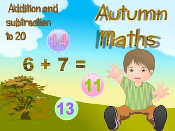 Autumn - Addition and Subtraction - interactive slide show