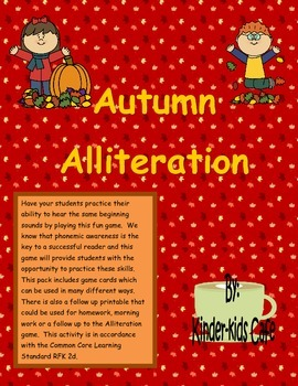Autumn Alliteration