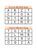 Autumn Alphabet Bingo: Letter Identification and Letter So