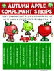 Autumn Apple Compliment Strips