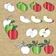 Autumn Apples Clipart