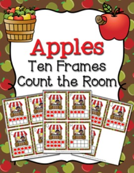 Autumn Apples Ten Frames Count the Room