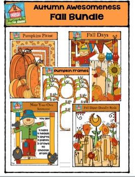 Autumn Awesomeness - Fall Bundle {P4 Clips Trioriginals Di