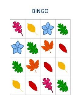Autumn Bingo Game