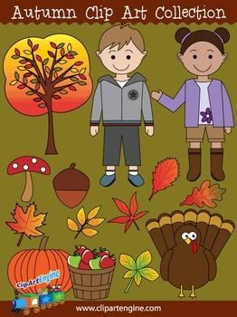 Autumn Clip Art Collection