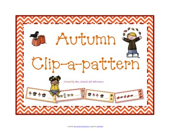 Autumn Clip-a-Pattern